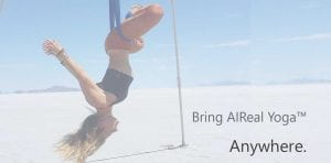 bring aireal yoga anywhere