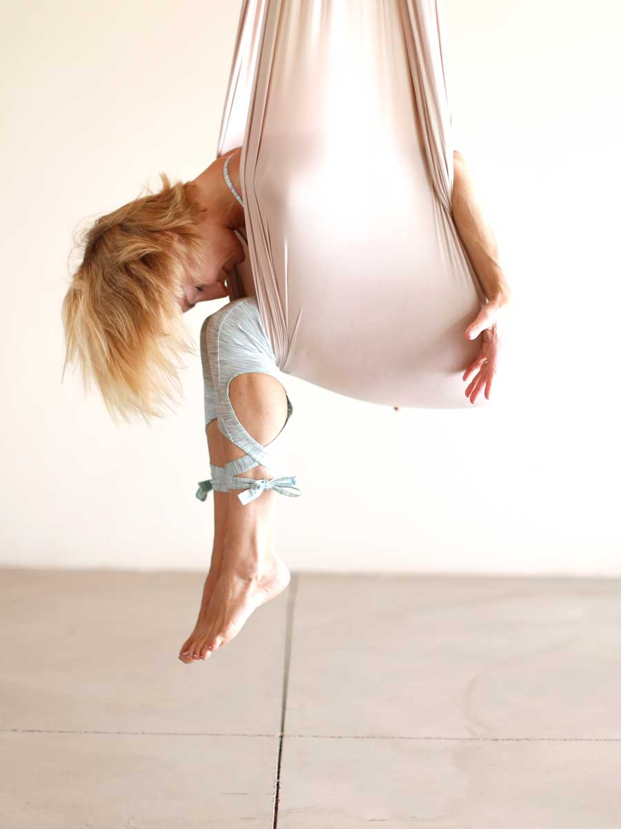 Use Aerial Yoga To Find Balance