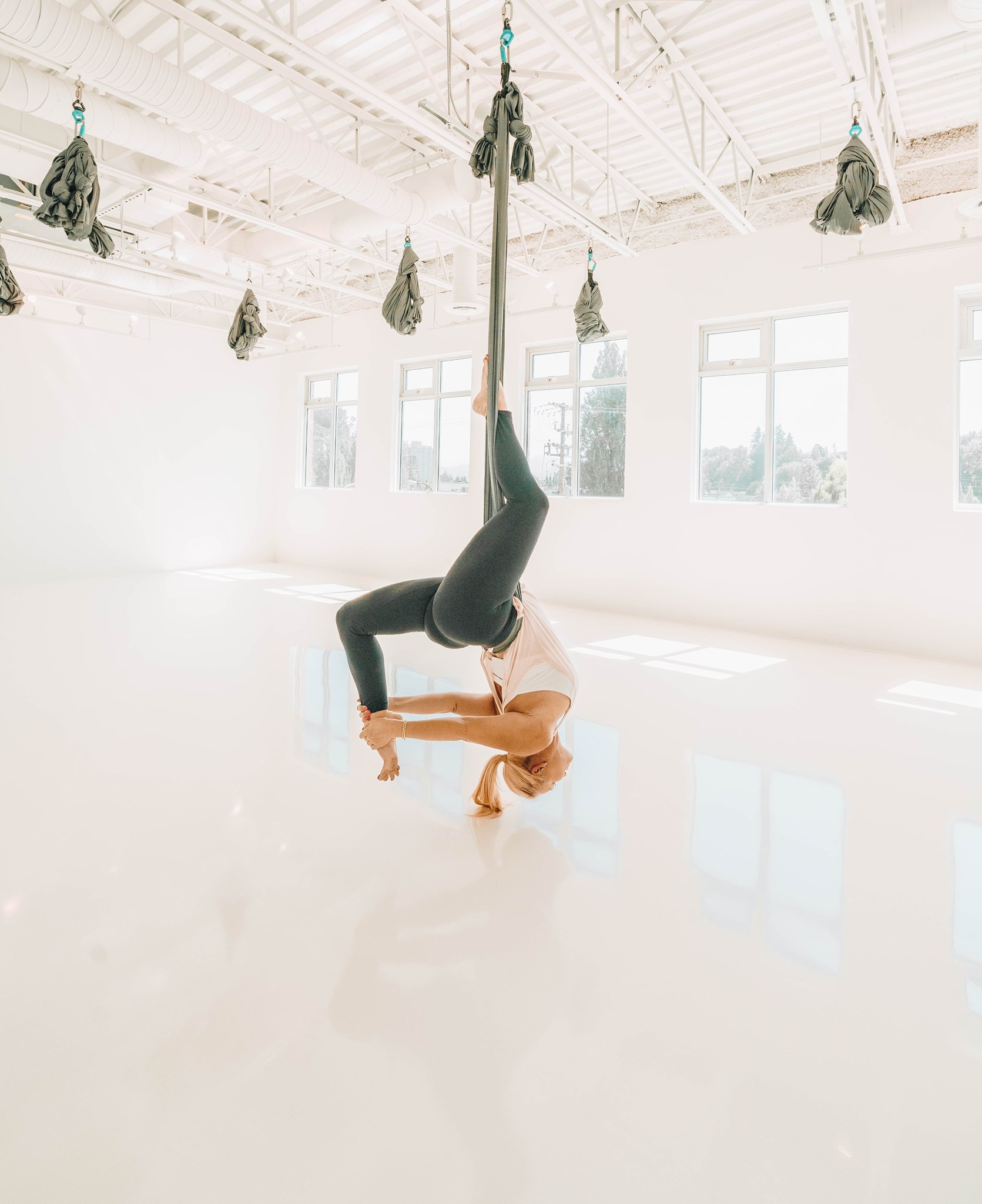 Aerial Yoga Teacher Training British Columbia