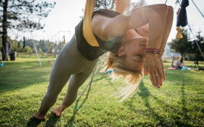 5 Aerial Yoga Postures That Can Benefit Mental Health